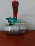 Кран шаровый Ду15 Ру40 SD FORTE ВОДА муфтовый  (резьбовой) латунный ГГ