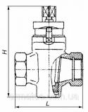 Кран пробковый чугунный 11ч6бк Ду15-80