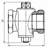 Кран пробковый чугунный 11ч3бк Ду15-80