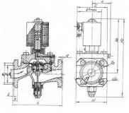 Вентиль чугунный фланцевый 15кч888рРу16 с приводом