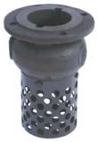 Купить клапан обратный 16ч42р Ду50 Ру2.5 чугунный фланцевый с приемной сеткой (фикальный) Харьков Украина