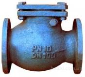 Клапан обратный чугунный19ч16бр Ру16