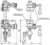 Запорное устройство 12б1бк Ду20 Ру16