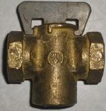 Кран пробковый муфтовый 11Б6бк Ду15-50 Ру10