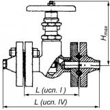 Вентиль стальной 15с57нж Ду15-25 Ру160