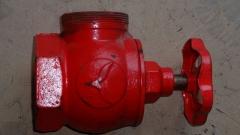 Пожарный кран ПК 70 угловой