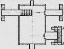 Грязевик абонентский вертикальные Ду100 Ру16 ТУ 400-28-84-95 исп.2
