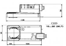 Задвижка Баттерфляй Ду100 с электро приводом BELIMO