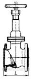 Задвижка бензиновая  30кч70бр Ду80 Ру4