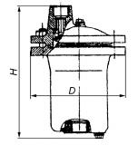 Конденсатоотводчик поплавковый 45ч13нж Ду50 Ру16