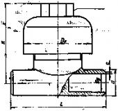 Конденсатоотводчик термодинамический стальной 45с13нж (45нж13нж) Ду25 Ру40